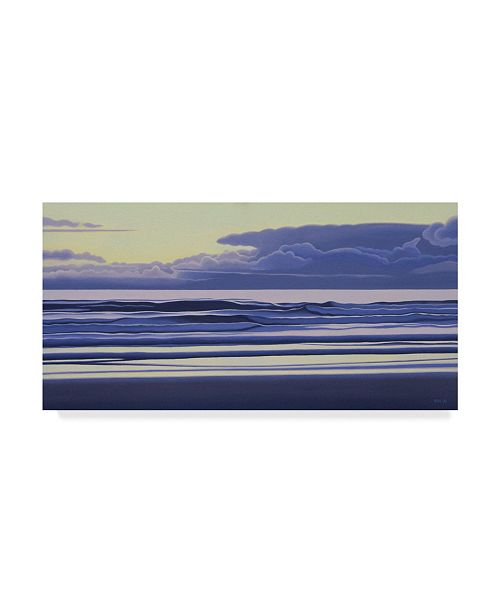 """Trademark Global Ron Parker 'Morning Clouds' Canvas Art - 16"""" x 32"""""""