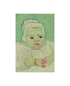 "Vincent Van Gogh 'Roulins Baby' Canvas Art - 19"" x 12"""