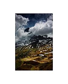 "Istvan Nagy 'The North Face Of Eiger' Canvas Art - 22"" x 32"""