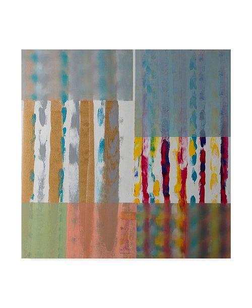 "Trademark Global Hooshang Khorasani 'Shades Of Color' Canvas Art - 18"" x 18"""