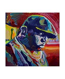 "Howie Green 'Biggie Smalls' Canvas Art - 18"" x 18"""