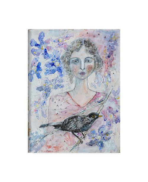 "Trademark Global Jane Hinchliffe 'Wild And Free Birds' Canvas Art - 14"" x 19"""