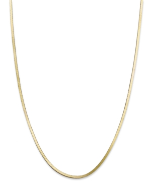 "Giani Bernini 24k Gold over Sterling Silver Necklace, 18"" Snake Chain Necklace"
