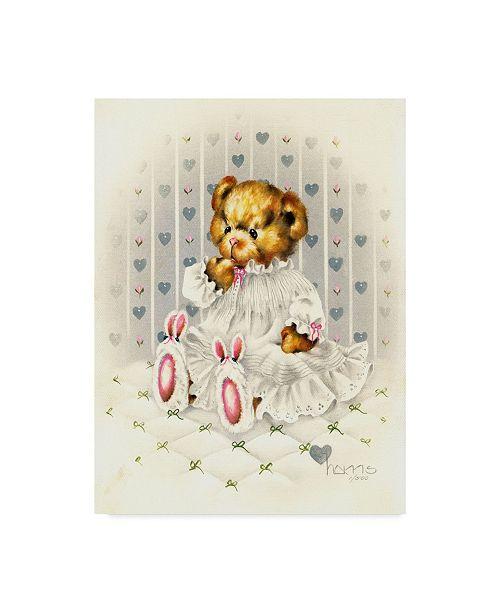 "Trademark Global Peggy Harris 'Lullabear' Canvas Art - 18"" x 24"""