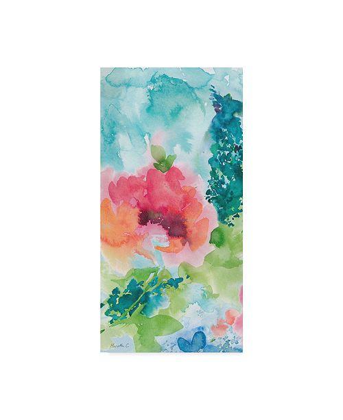 "Trademark Global Marietta Cohen Art And Design 'Primavera 1' Canvas Art - 24"" x 47"""