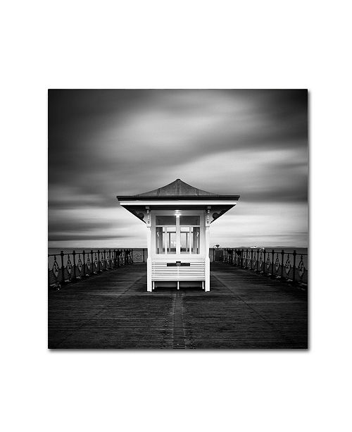 "Trademark Global Rob Cherry 'Swanage Pier' Canvas Art - 24"" x 24"""