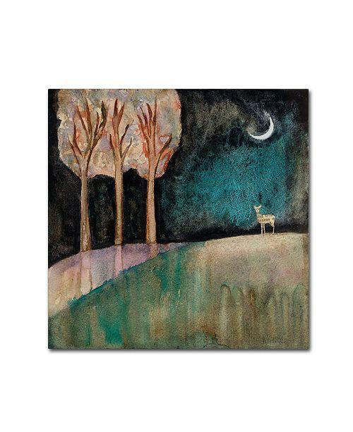 """Trademark Global Wyanne 'Quiet' Canvas Art - 35"""" x 35"""""""
