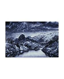 "Jeff Tift 'Storm Watch' Canvas Art - 22"" x 32"""