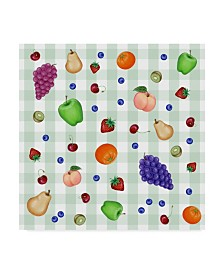 "Kimura Designs 'Fruit Patter' Canvas Art - 35"" x 35"""