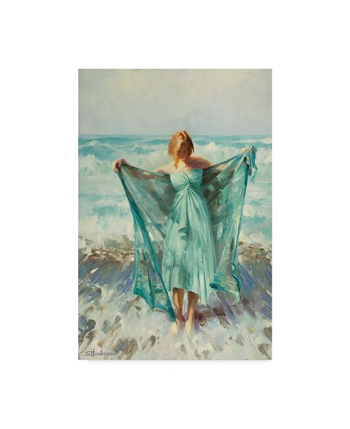 "Trademark Global Steve Henderson 'Aphrodite' Canvas Art - 22"" x 32"""