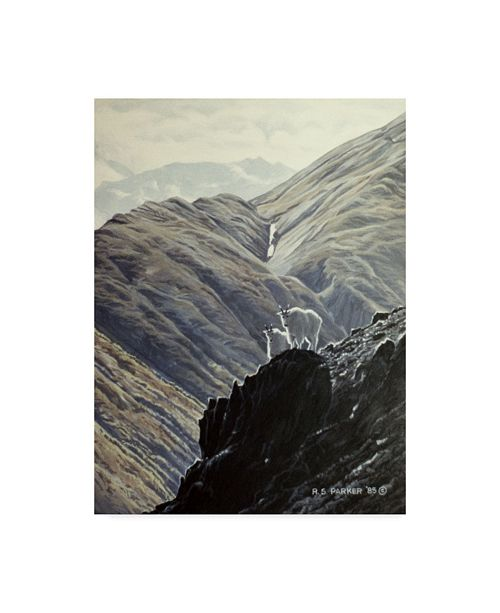 """Trademark Global Ron Parker 'Rock Climbers' Canvas Art - 35"""" x 47"""""""