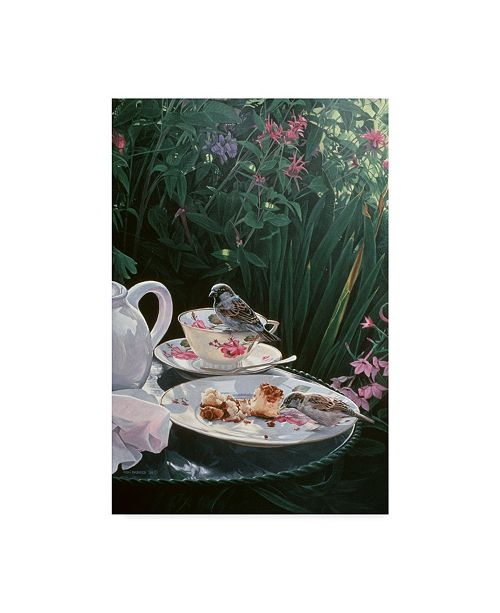 "Trademark Global Ron Parker 'Tea For Two' Canvas Art - 30"" x 47"""