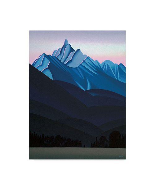 "Trademark Global Ron Parker 'Mountain Dawn' Canvas Art - 35"" x 47"""