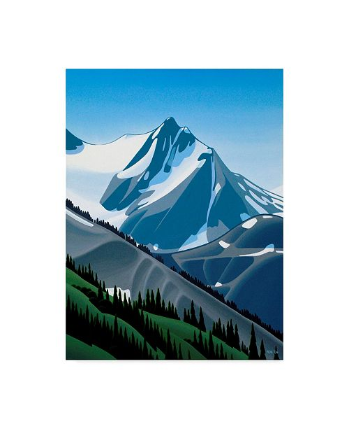 "Trademark Global Ron Parker 'Western Mountain' Canvas Art - 35"" x 47"""
