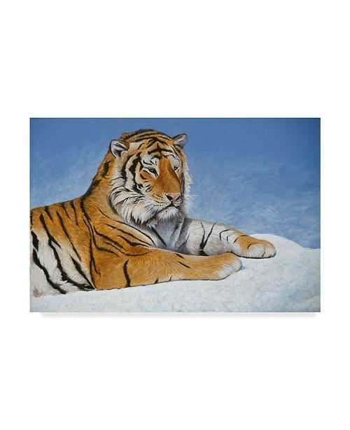 "Trademark Global Rusty Frentner 'Study For Exodus' Canvas Art - 30"" x 47"""