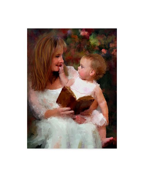 "Trademark Global Sharon Forbes 'Mother And Child' Canvas Art - 24"" x 32"""