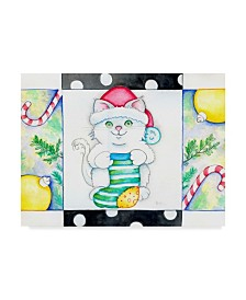 "Valarie Wade 'Christmas Socks' Canvas Art - 24"" x 32"""