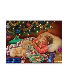 "Tricia Reilly-Matthews 'Christmas Eve Dreams' Canvas Art - 24"" x 32"""