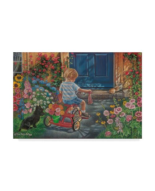 """Trademark Global Tricia Reilly-Matthews 'Only For You' Canvas Art - 30"""" x 47"""""""