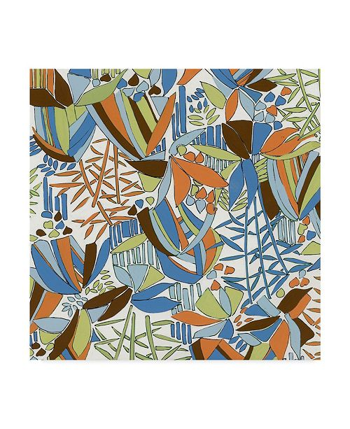 "Trademark Global Joyce Bantock 'Sticks' Canvas Art - 35"" x 35"""