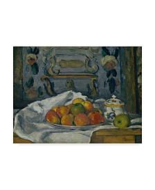 "Paul Cezanne 'Dish Of Apples' Canvas Art - 32"" x 24"""