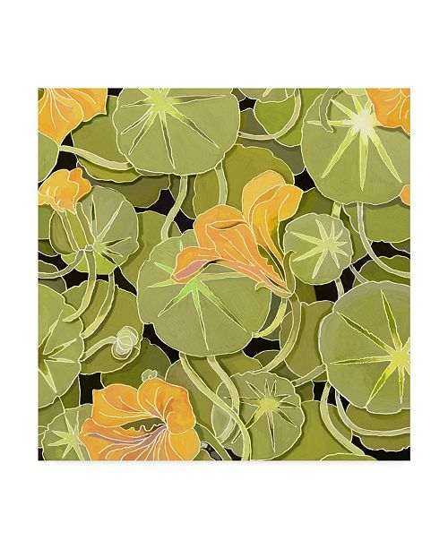 """Trademark Global Howie Green 'Lily Pads' Canvas Art - 35"""" x 35"""""""