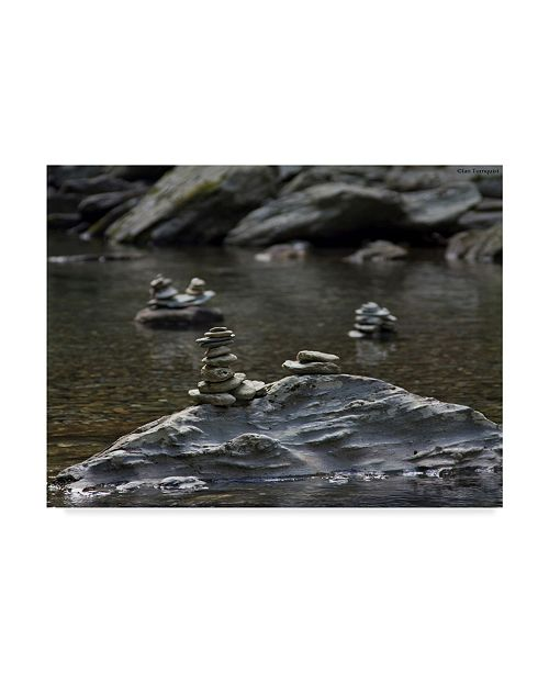 "Trademark Global Ian Tornquist 'Standing Stones' Canvas Art - 47"" x 35"""