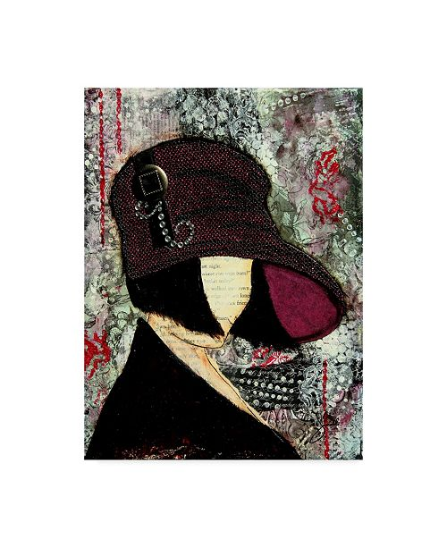 """Trademark Global Janelle Nichol 'Goody Two Shoes' Canvas Art - 35"""" x 47"""""""