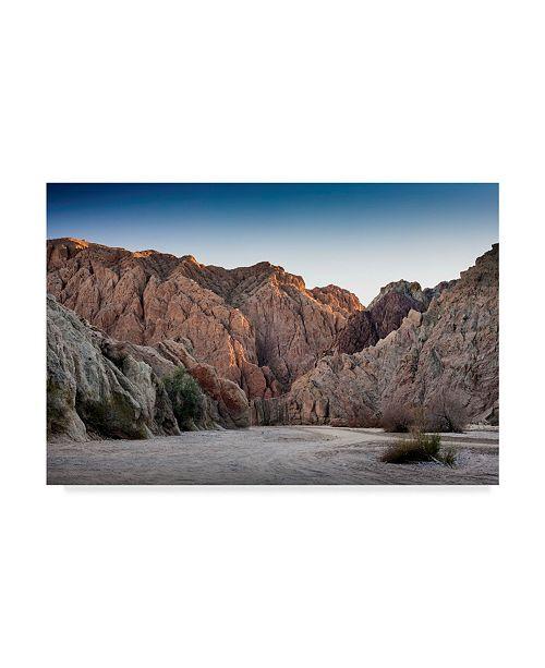 "Trademark Global Janice Sullivan 'Painted Canyon' Canvas Art - 47"" x 30"""