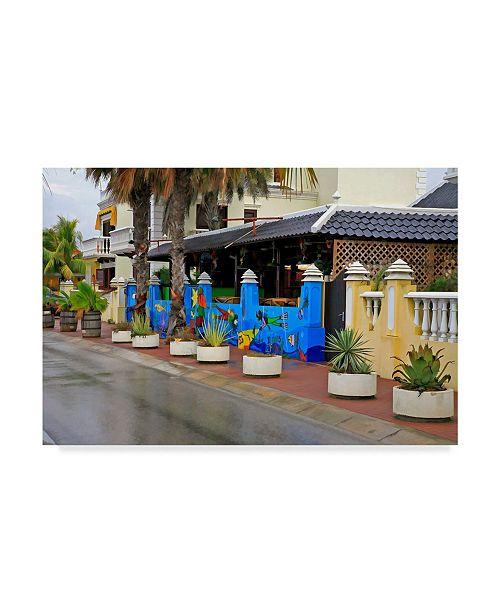 "Trademark Global J.D. Mcfarlan 'Bonaire 5' Canvas Art - 32"" x 22"""