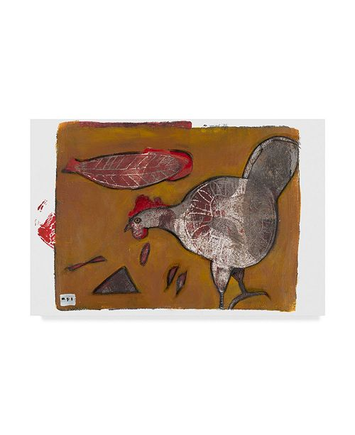 "Trademark Global Maria Pietri Lalor 'Bug Catcher' Canvas Art - 32"" x 22"""