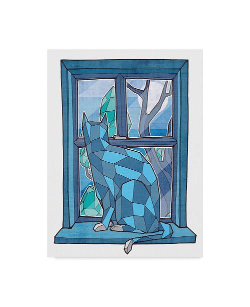"Trademark Global Ric Stultz 'Window Watcher' Canvas Art - 24"" x 32"""