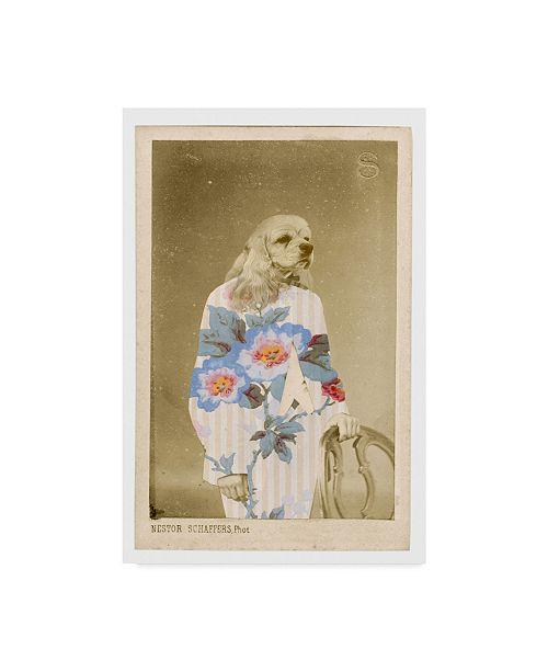"Trademark Global Philippe Debongnie 'Family Album Nestor' Canvas Art - 30"" x 47"""