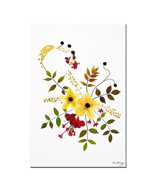"Trademark Global Enchanted Garden-Splash Canvas Art - 24"" x 16"""