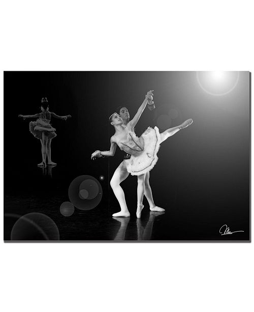 "Trademark Global Martha Guerra 'Dancers' Canvas Art - 32"" x 22"""