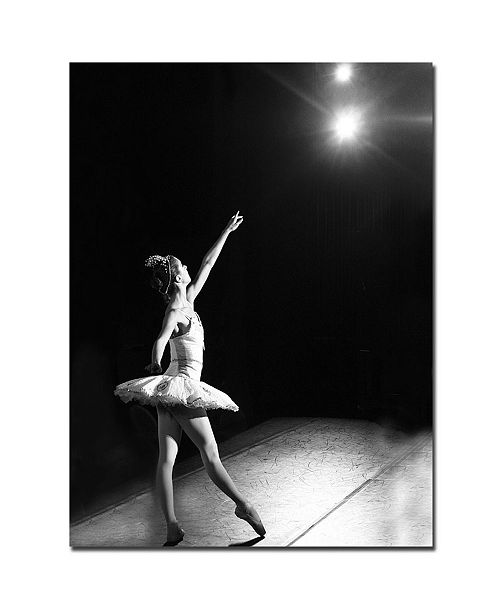 "Trademark Global Martha Guerra 'Ballerina II' Canvas Art - 24"" x 18"""
