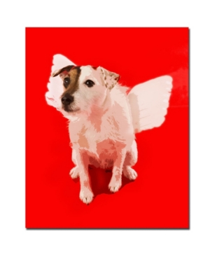 "Gifty Idea Greeting Cards and Such! 'Jack Angel' Canvas Art - 24"" x 18"""