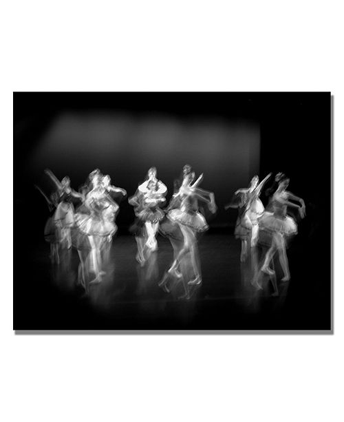 "Trademark Global Martha Guerra 'Ballerina VI' Canvas Art - 32"" x 22"""