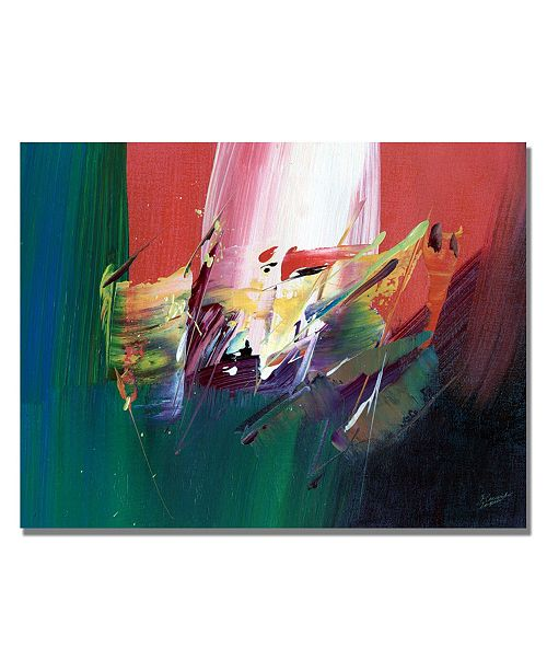 "Trademark Global Tapia 'Onward I' Canvas Art - 32"" x 26"""