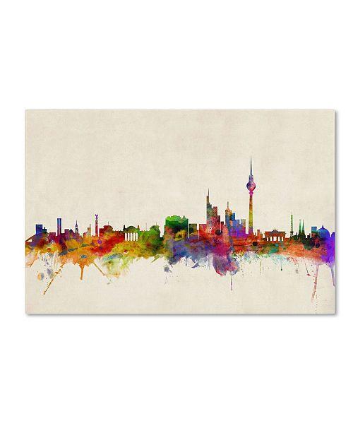 "Trademark Global Michael Tompsett 'Berlin Germany' Canvas Art - 32"" x 22"""