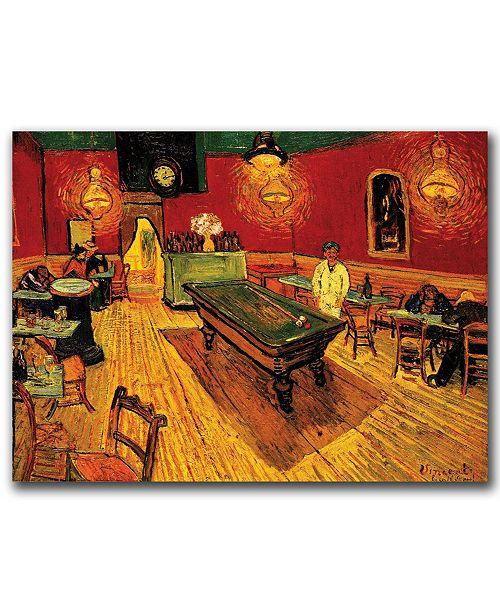 "Trademark Global van Gogh 'The Night Cafe' Canvas Art - 24"" x 32"""