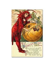 "Vintage Apple Collection 'Halloween Twelve' Canvas Art - 12"" x 19"""