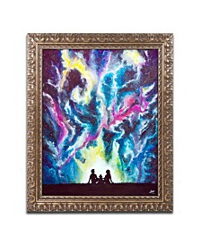 "Marc Allante 'Stardust' Ornate Framed Art - 11"" x 14"""