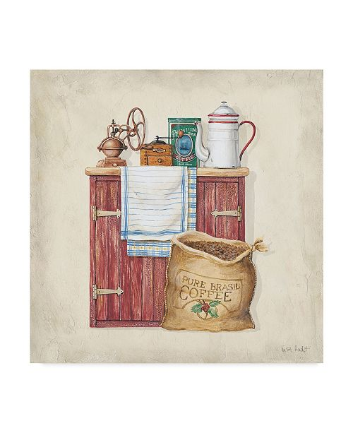 "Trademark Global Lisa Audit 'Pantry D' Canvas Art - 14"" x 14"""