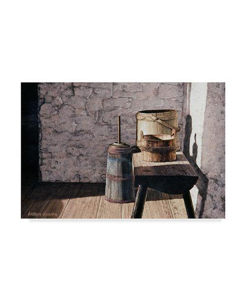 "Trademark Global William Breedon 'Springhouse Still Life' Canvas Art - 12"" x 19"""