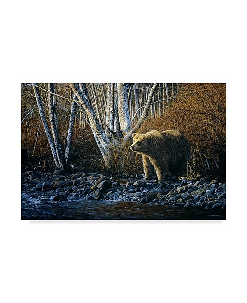 "Trademark Global Ron Parker 'Autumn Morning' Canvas Art - 12"" x 19"""