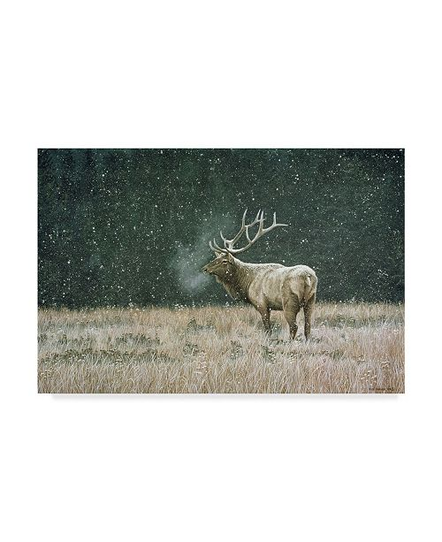 "Trademark Global Ron Parker 'Early Snowfall' Canvas Art - 12"" x 19"""