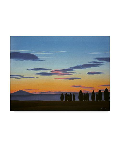 "Trademark Global Ron Parker 'Mayook Morning' Canvas Art - 14"" x 19"""