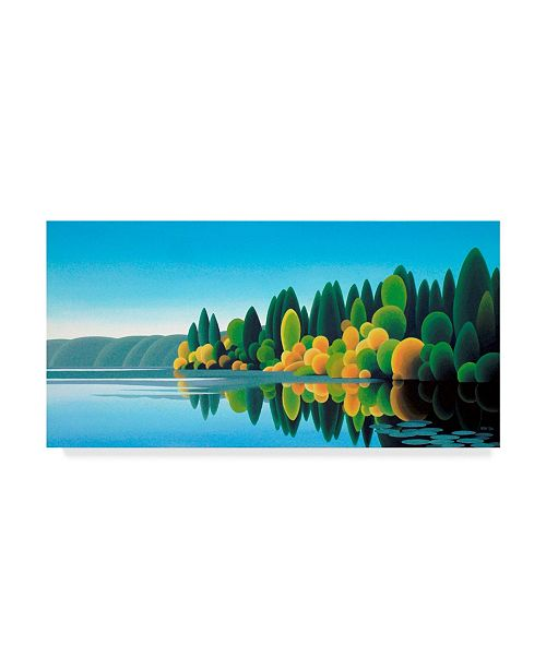 "Trademark Global Ron Parker 'Prospect Lake' Canvas Art - 10"" x 19"""