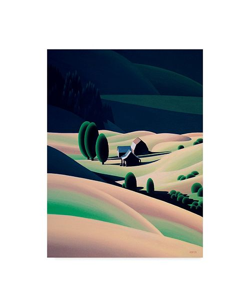 """Trademark Global Ron Parker 'Cattle Country' Canvas Art - 14"""" x 19"""""""